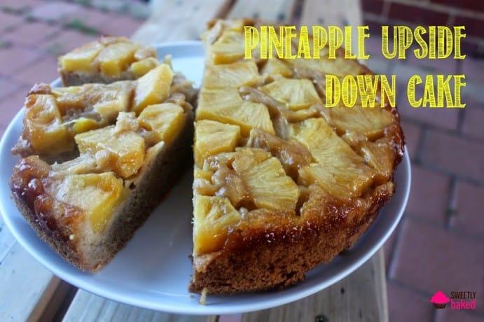 Upside Down Pineapple Cake (Gluten Free, Dairy Free)