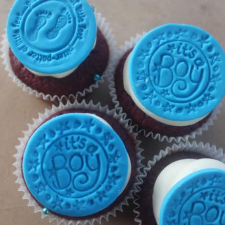 Baby Shower Cupcakes Sweetly Baked Perth