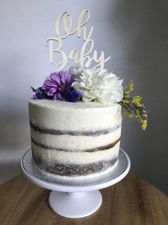 Super Baby Shower Fresh Flowers Wedding Engagement Birthday Cake Sweetly Funny Birthday Cards Online Inifofree Goldxyz